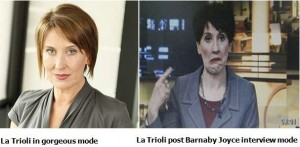 la trioli gorgeous and barnaby joyce
